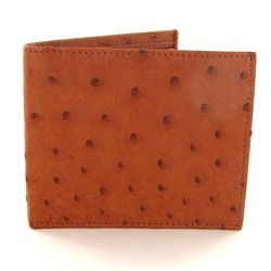 Mens Ostrich Hide Skin Wallet (ACT-300)