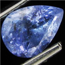 0.85ct Top Color Tanzanite Pear (GEM-38923)
