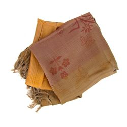 Laos Raw Silk Wall Tapestry (DEC-499)