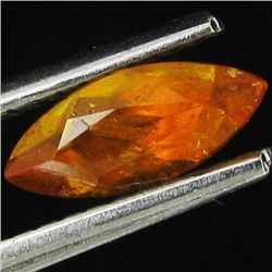 0.65ct Mandarin Fire Orange Clinohumite Marquise (GEM-44039)