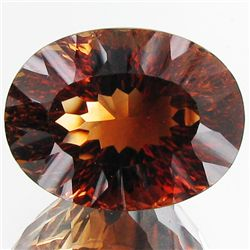34.4ct Top Imperial Topaz Unheated (GEM-27522)