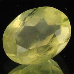 9.75ct Untreated Natural Lemon Citrine Oval (GEM-39186)