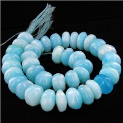505ct Peru Blue Opal Bead Strand (JEW-4210)