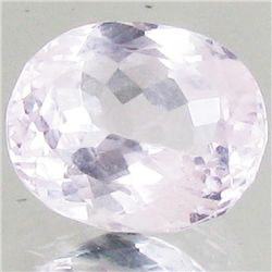 3.8ct Blush Pink Kunzite Oval (GEM-42929)