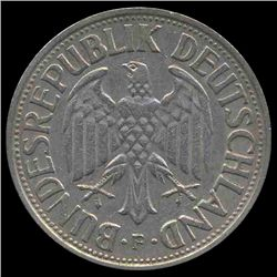 1959F Germany 1 Mark Hi Grade RARE (COI-8149)