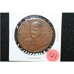 Lyndon B Johnson Presidential Inaugural Medal