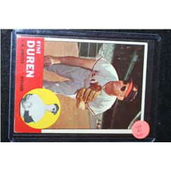 1963 MLB T.C.G. Ryne Duren Los Angeles Angels Baseball Trading Card