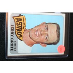 1965 MLB T.C.G. Jerry Grote Houston Astros Baseball Trading Card