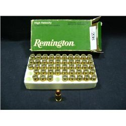 REMINGTON HIGH VELOCITY .32 AUTO, 71 GR. FMJ 48 TOTAL