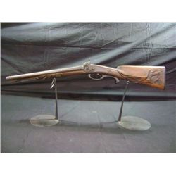 DOUBLE CAP & BALL PERCUSSION SHOTGUN W/ BUFFALO TRIGGER GUARD - 15  BARRELL - SYRACUSE, NY