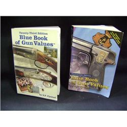 """BLUE BOOK OF GUN VALUES EIGHTEENTH EDITION & TWENTY-THIRD EDITION"" BY S.P. FJESTAD"