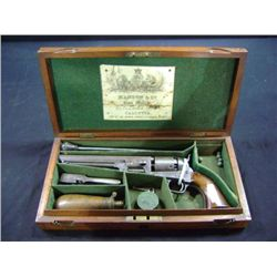 "1851 NAVY COLT,  7 1/2"" BARREL, ADDRESS COLT. COLT CASE SET, MANTON DISTRIBUTION - LONDON - S/N 1500"