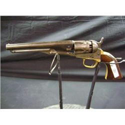 "1862 POLICE COLT 36 CALIBER, 6 1/2"" BARREL, FLUTED CYLINDER, ADDRESS COL SAM L COLT - NEW YORK US, A"