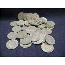 1949 JEFFERSON NICKELS 40X MONEY