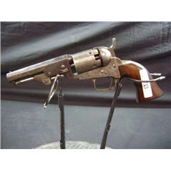 "1849 POCKET COLT, 31 CALIBER, 4"" BARREL, ADDRESS SAM L COLT - HARTFORD, CT - S/N 185345"
