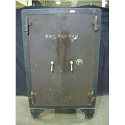 "CARY SAFE, 71 1/4"" X 4 3 1/2"" X 28 1/2"", BROWN, 2 DOOR, WEIGHT 2,972 POUNDS"