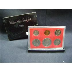 1980 U.S. PROOF SET (6 COINS)