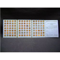 LINCOLN HEAD CENT COLLECTION BOOK 1946-1964 (100 COINS) DUPLICATES