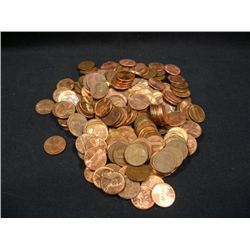 BAG OF MIXED PENNIES--LINCOLN HEAD CENTS $2.18 TOTAL