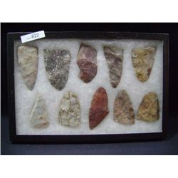 CASE OF 10 LARGE ARROW HEADS