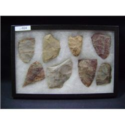 CASE OF 8 LARGE ARROW HEADS