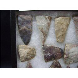 CASE OF 17 MEDIUM ARROW HEADS