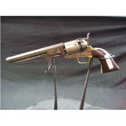 "1851 NAVY COLT, 36 CALIBER, 7 1/2"" BARREL, SQUARE BACK GUARD, ADDRESS SAM L COLT - NEW YORK CITY - S"