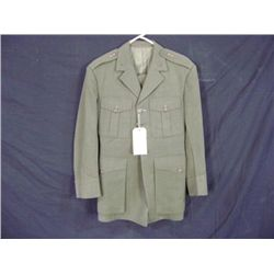 USMC SERVICE A DRESS UNIFORM SUIT, PANT AND COAT GREEN