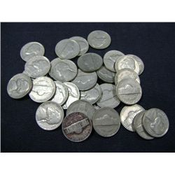 1939 JEFFERSON NICKELS 30X MONEY