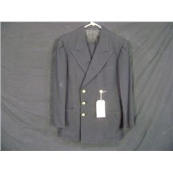 USMC EVENING DRESS B COAT, BLACK