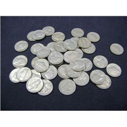 1940 JEFFERSON NICKELS 40X MONEY