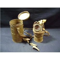 ARMY RESPIRATOR IN CAN