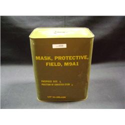 MASK, PROTECTIVE, FIELD, M9A1 CANISTER--STILL SEALED