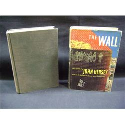 """THE WALL"" BY JOHN HENSEY CR-1950, ""THE GUN COLLECTOR'S HANDBOOK OF VALUES"" BY CHARLES EDWARD CHAPEL"