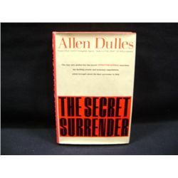 """THE SECRET SURRENDER"" BY ALLEN DULLES CR-1960"