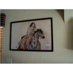 BRAVE HORSE PRINT BY CAROL GRIGG