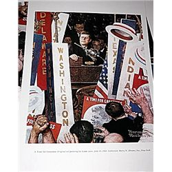 Norman Rockwell Lithograph-A Time For Greatness