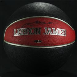 Lebron James Signed Nike Basketball (UDA COA)