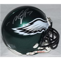 Michael Vick & LeSean McCoy Signed Eagles Mini-Helmet (GA COA)