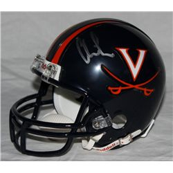 Chris Long Signed Virginia Mini-Helmet (Long Hologram)