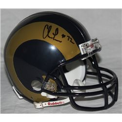 Chris Long Signed Rams Mini-Helmet (Long Hologram)