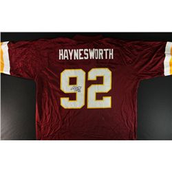 Albert Haynesworth Signed Redskins Jersey (GA COA)