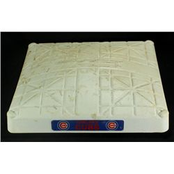 Cubs vs. Cardinals Game Used Third Base Baseball From 7-24-10 (MLB & Steiner LOA)