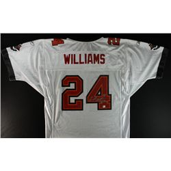 "Carnell Williams Signed Buccaneers Jersey: Inscribed ""Cadillac"" (GA COA)"