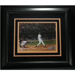 Cal Ripken Jr. Signed Orioles 18x16 Custom Framed Photo (MLB & Ripken Hologram)