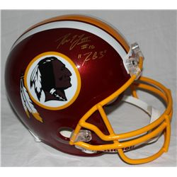 "Robert Griffin III Signed Redskins Full-Size Helmet: Inscribed ""RG3"" (JSA COA)"