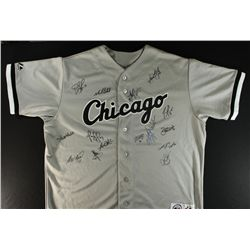 2010 White Sox Team Jersey Signed by (16) Including: Konerko, Buehrle, Vizquel, Guillen  (GA COA)