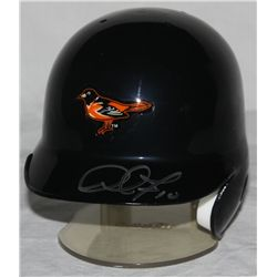 Adam Jones Signed Orioles Mini-Helmet (JSA COA)
