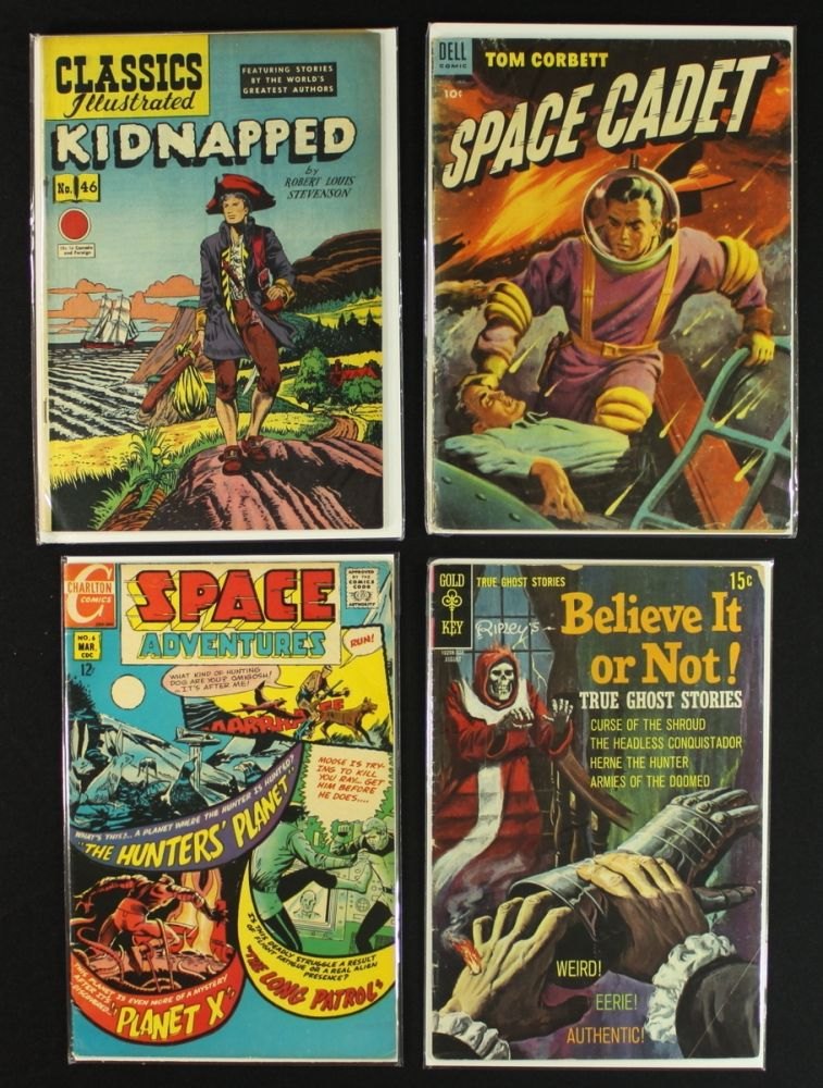 Lot Of 4 Vintage 1950 S 1960 S Comic Books Ripleys Space