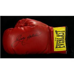 Larry Holmes Signed Boxing Glove (JSA COA)